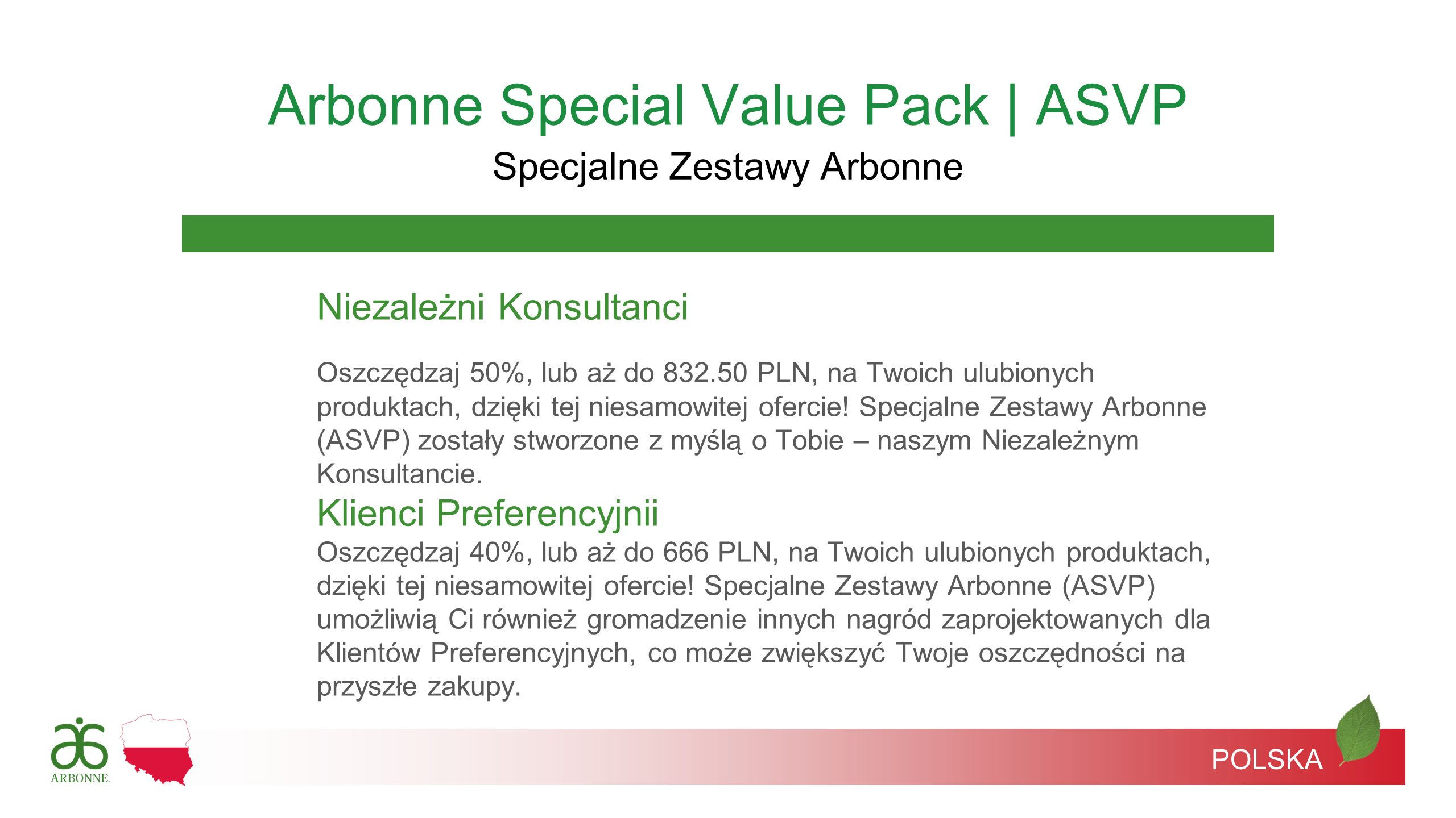 Arbonne Special Value Pack | ASVP