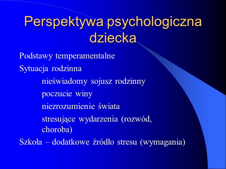 Perspektywa psychologiczna dziecka