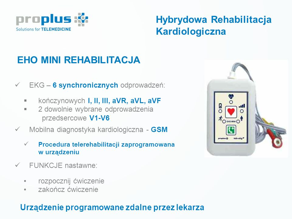 Hybrydowa Rehabilitacja Kardiologiczna