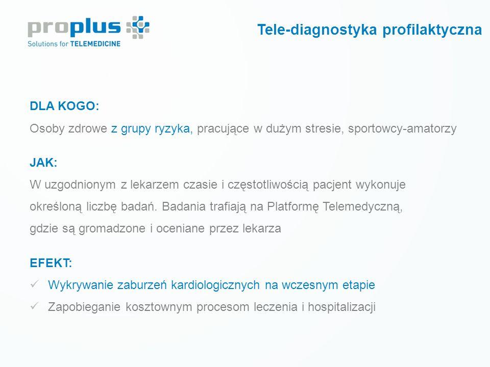 Tele-diagnostyka profilaktyczna
