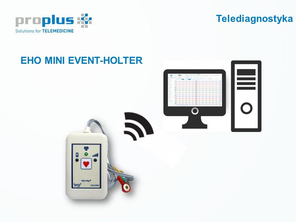 Telediagnostyka EHO MINI EVENT-HOLTER Prewencja wtórna