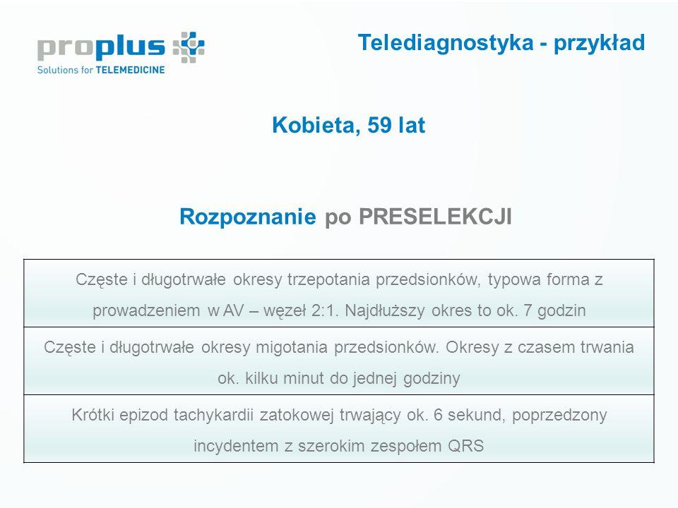 Telediagnostyka - przykład