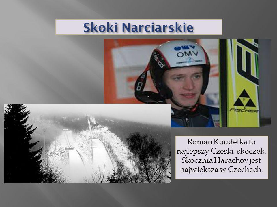 Skoki Narciarskie Roman Koudelka to najlepszy Czeski skoczek.
