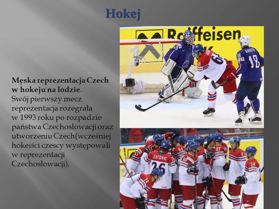 Hokej Męska reprezentacja Czech w hokeju na lodzie.