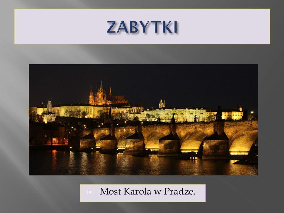 ZABYTKI Most Karola w Pradze.