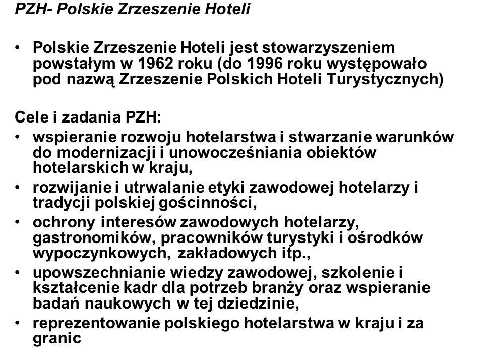 PZH- Polskie Zrzeszenie Hoteli