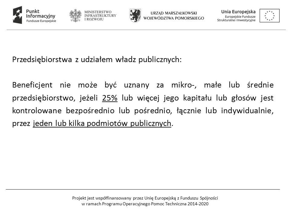 Przedsiębiorstwa z udziałem władz publicznych: