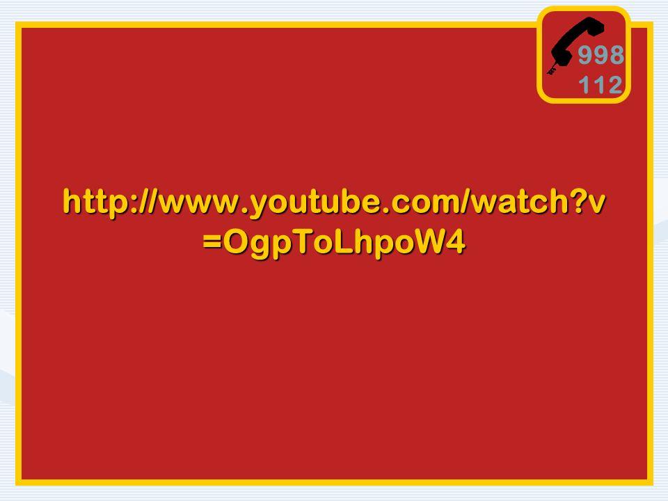 998 112 http://www.youtube.com/watch v=OgpToLhpoW4
