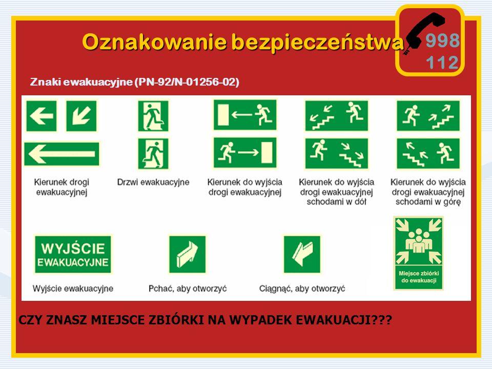 Oznakowanie bezpieczeństwa