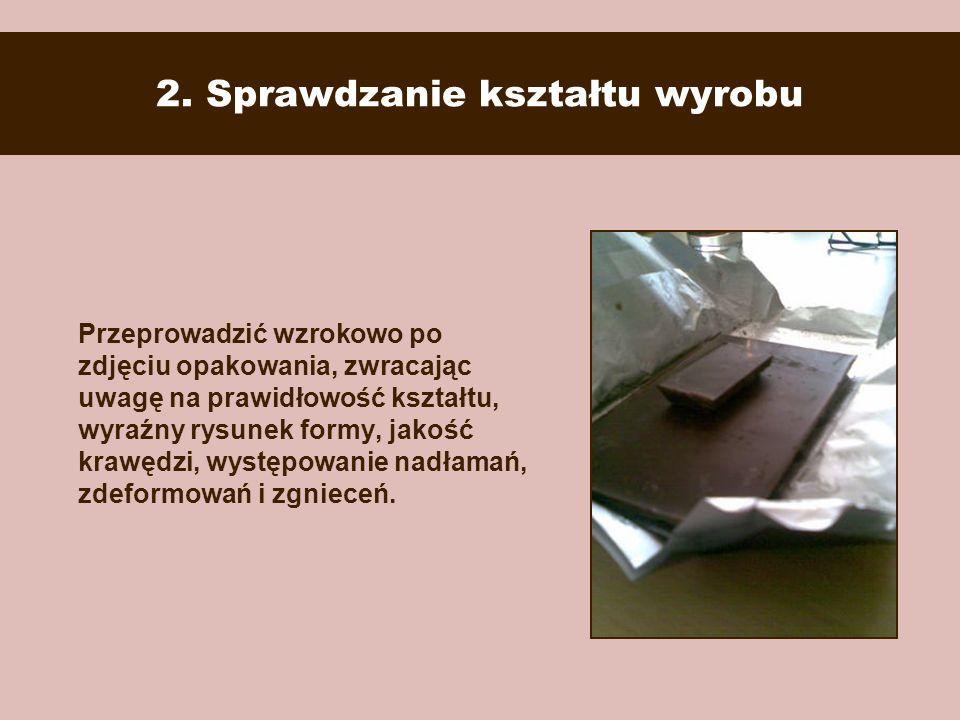 2. Sprawdzanie kształtu wyrobu