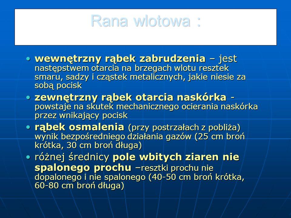 Rana wlotowa :