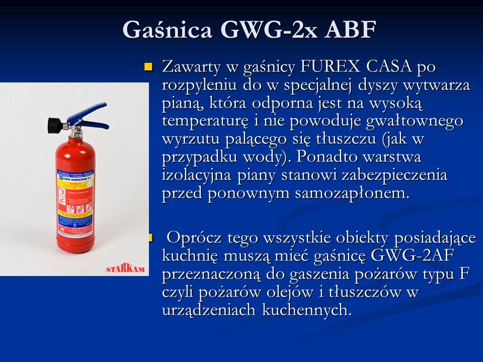 Gaśnica GWG-2x ABF