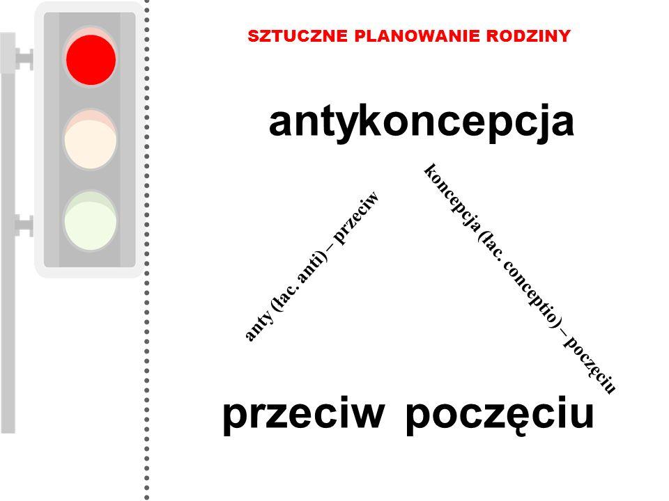 anty koncepcja przeciw poczęciu koncepcja (łac. conceptio) – poczęciu