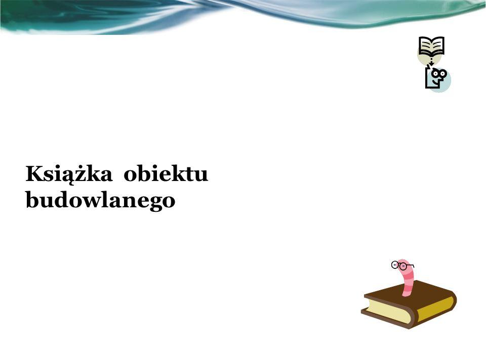 Książka obiektu budowlanego