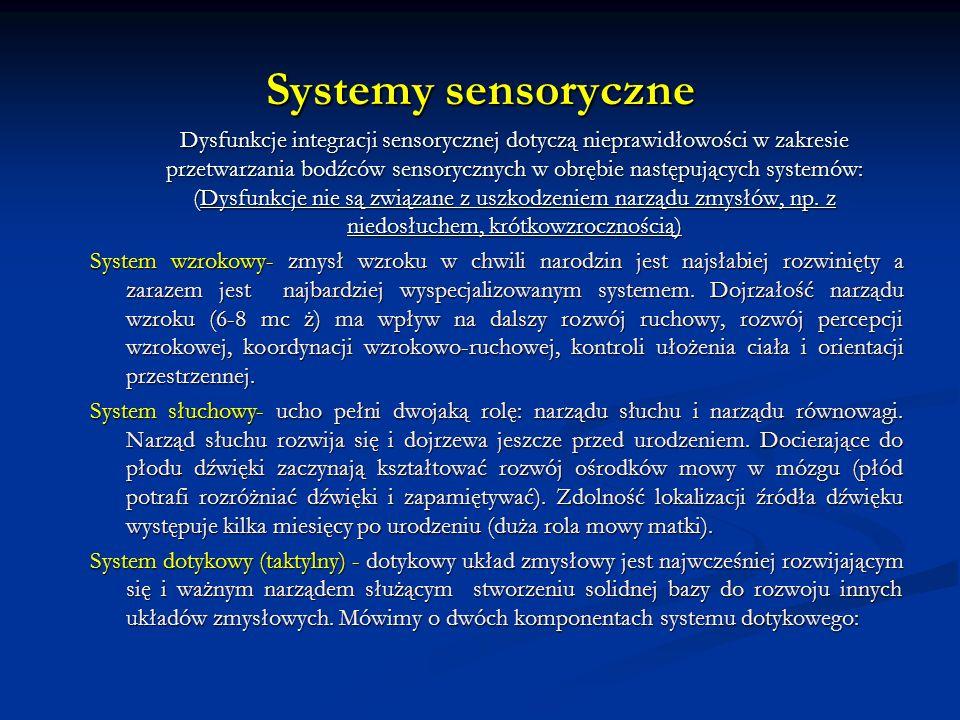Systemy sensoryczne