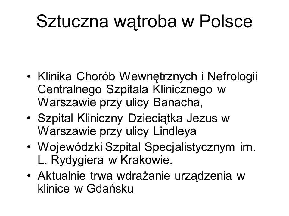 Sztuczna wątroba w Polsce