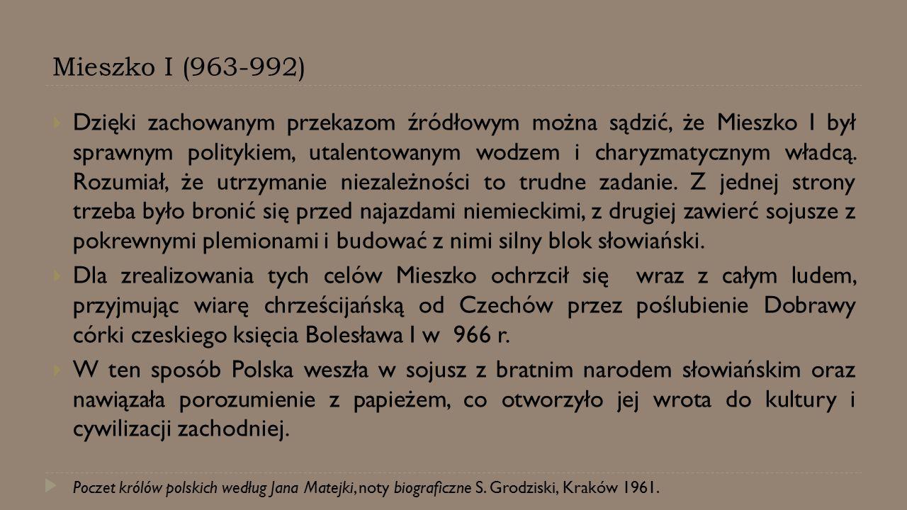 Mieszko I (963-992)