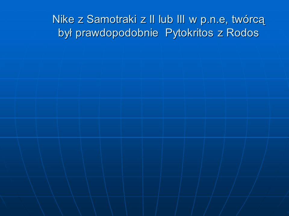 Nike z Samotraki z II lub III w p. n