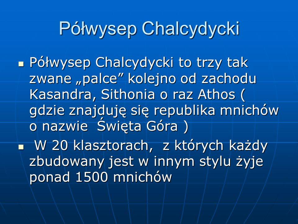 Półwysep Chalcydycki