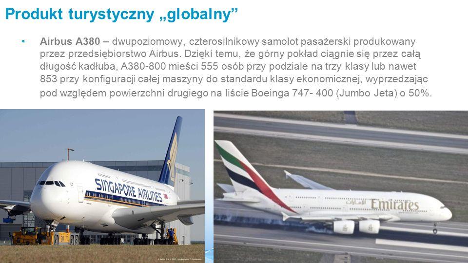 """Produkt turystyczny """"globalny"""