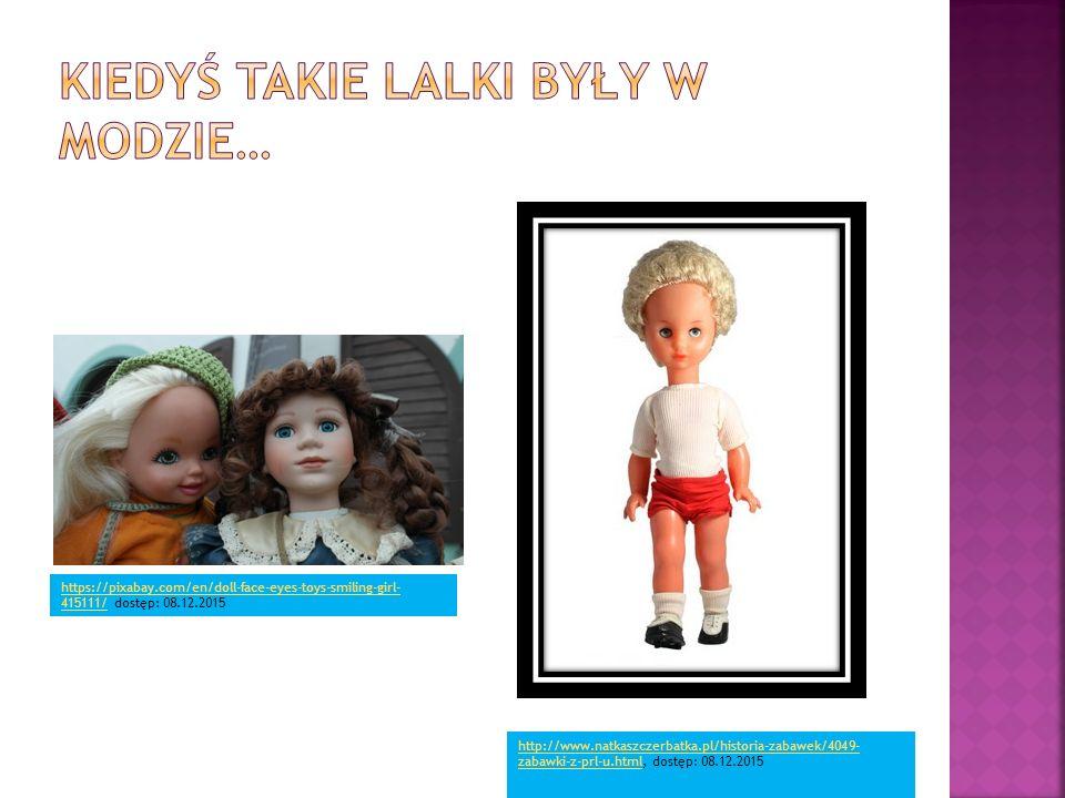 Kiedyś takie lalki były w modzie…