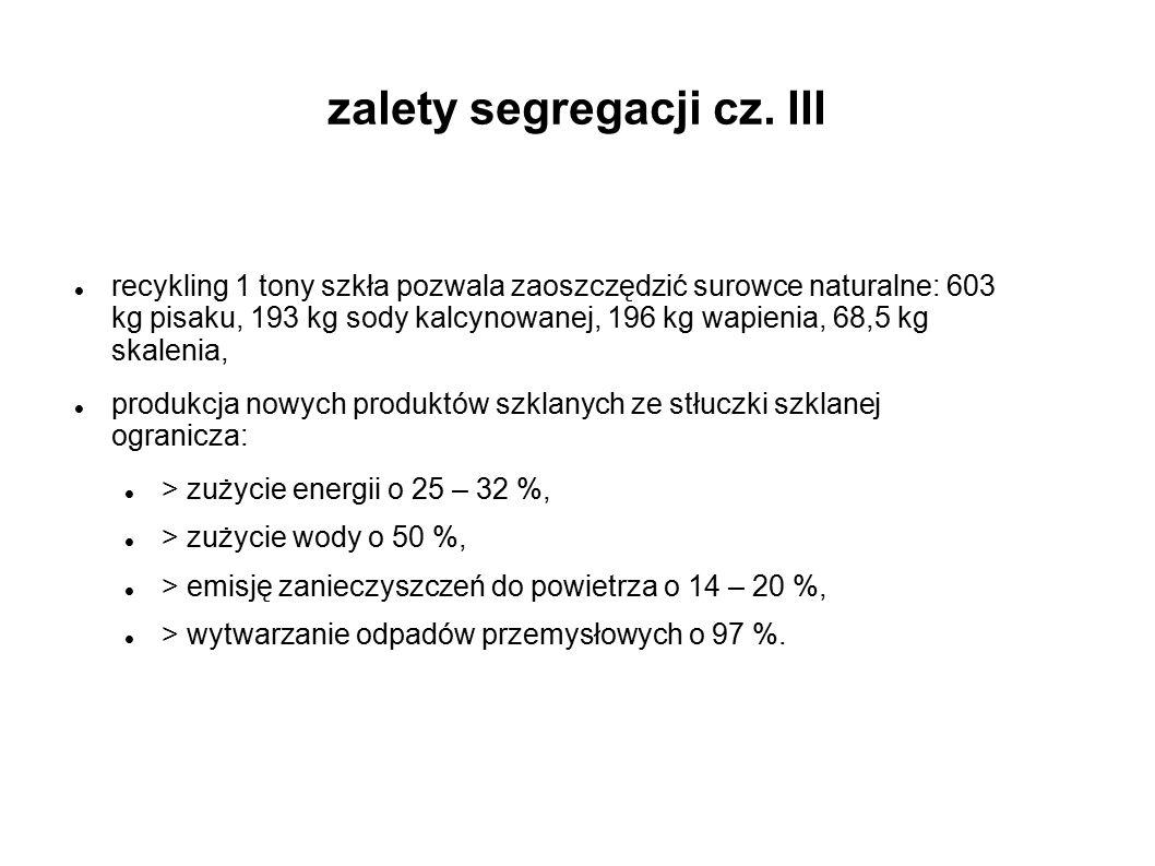 zalety segregacji cz. III