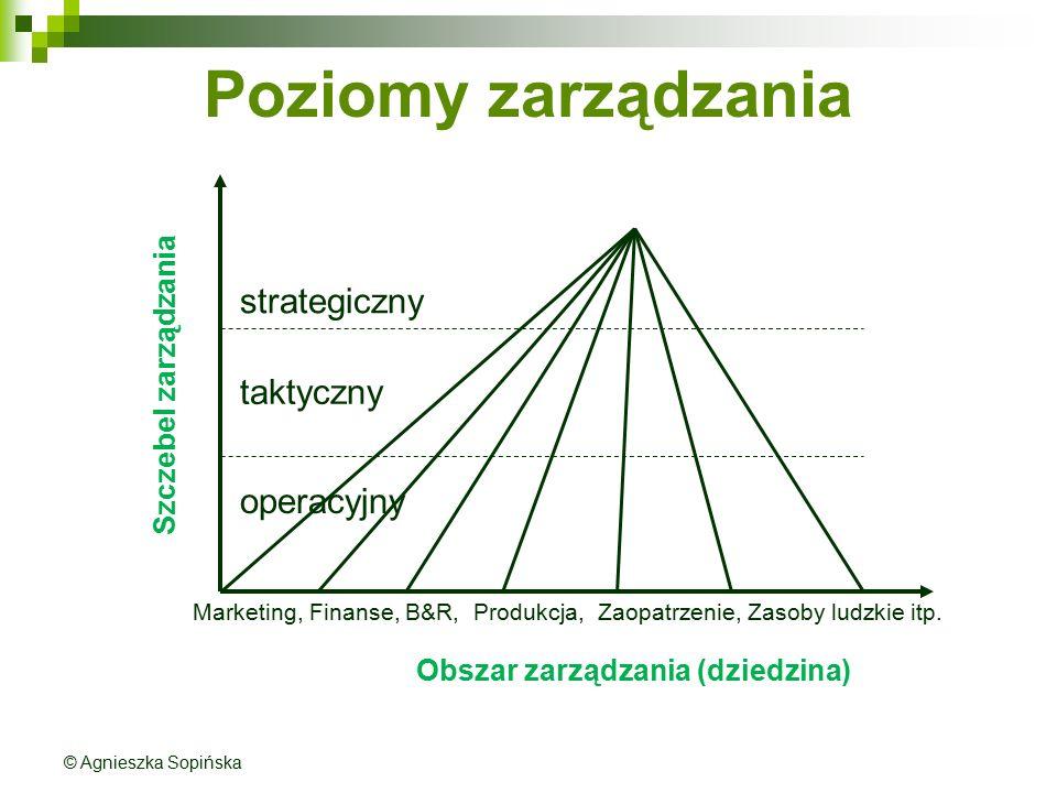Poziomy zarządzania strategiczny taktyczny operacyjny