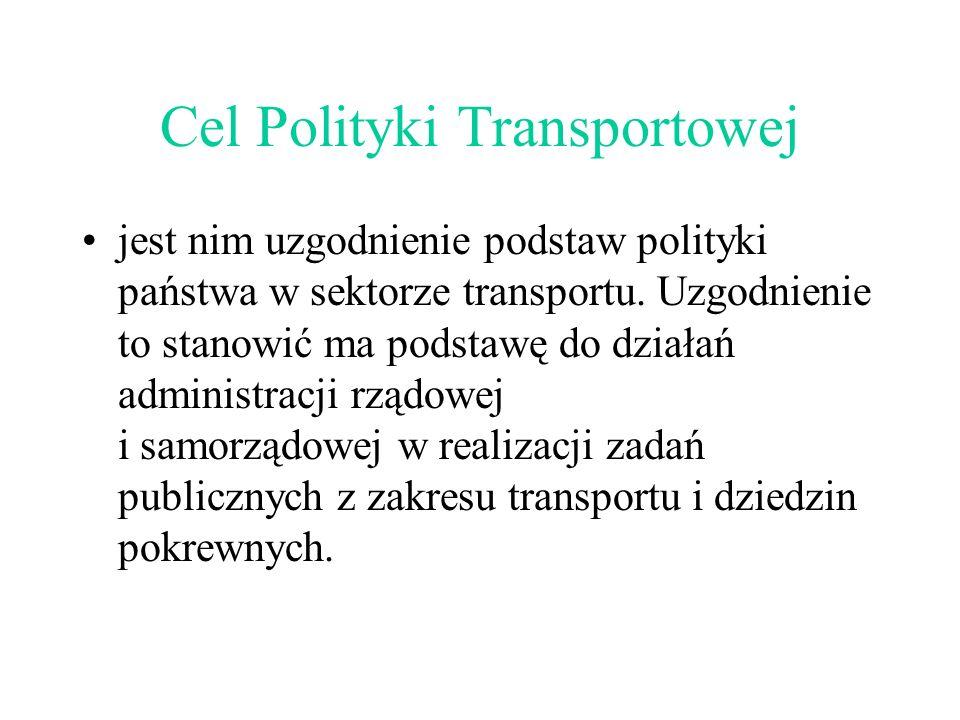 Cel Polityki Transportowej