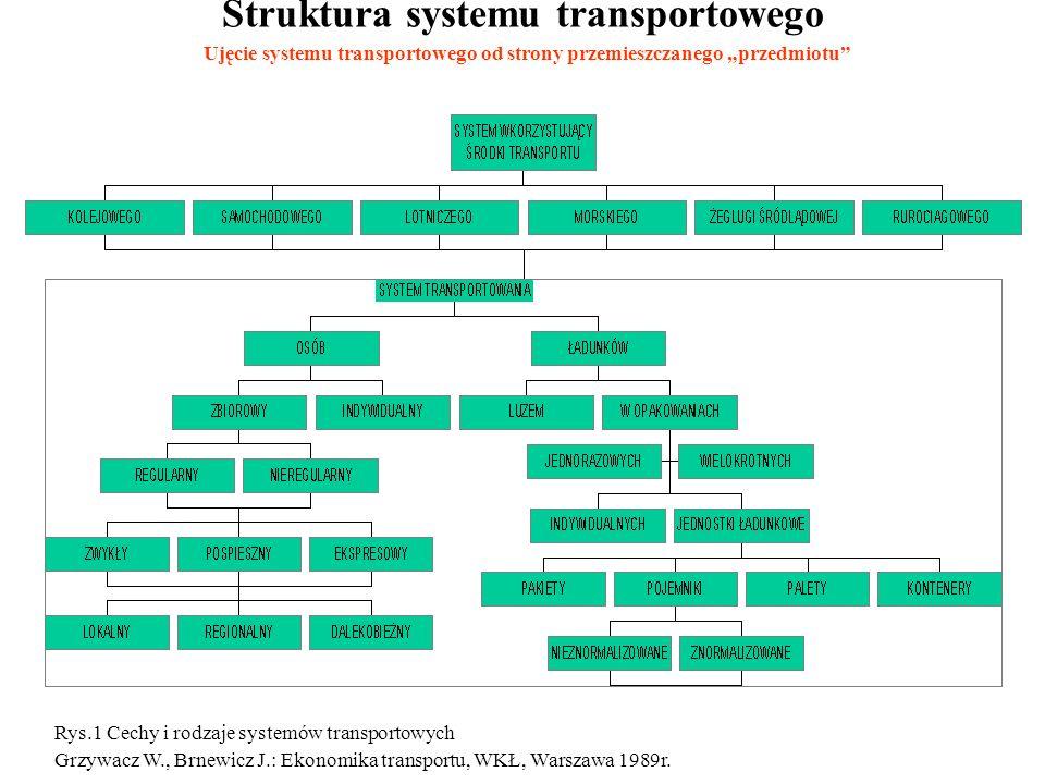 Struktura systemu transportowego