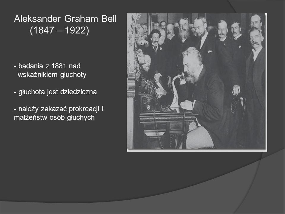 Aleksander Graham Bell (1847 – 1922)