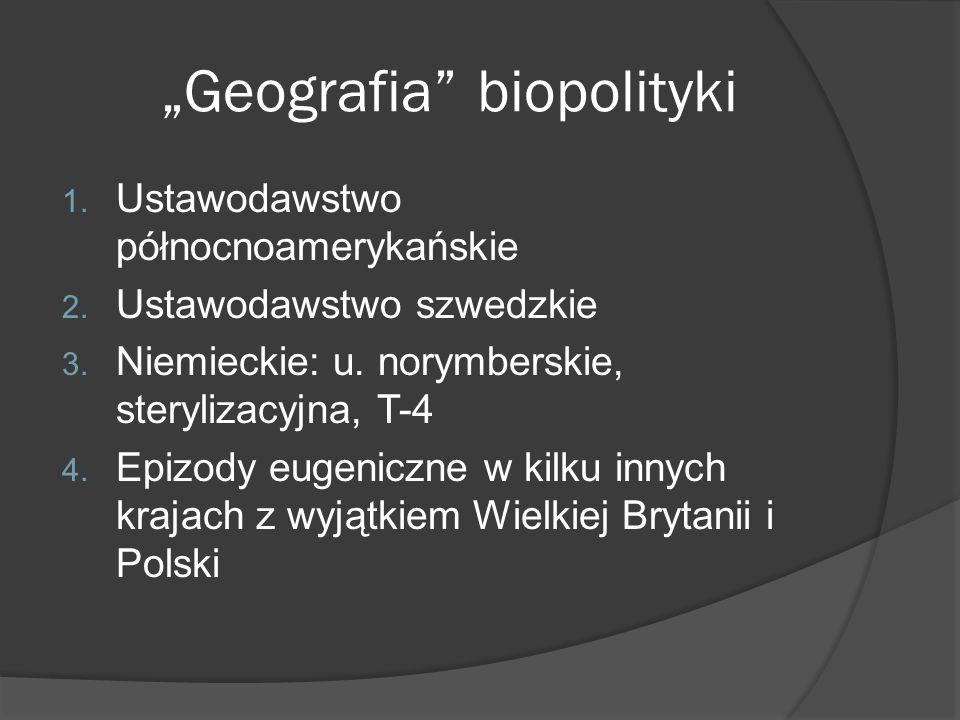 """""""Geografia biopolityki"""