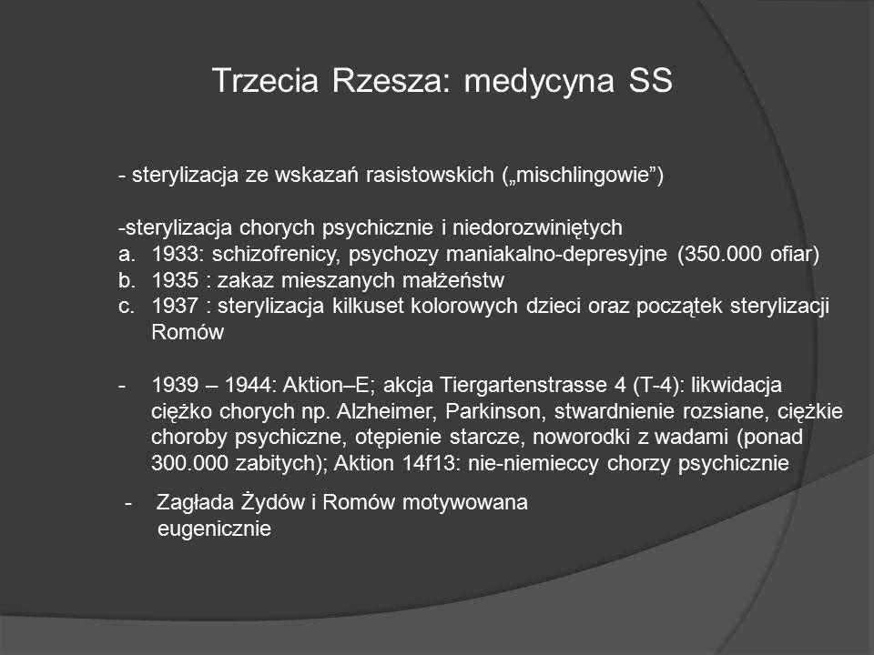 Trzecia Rzesza: medycyna SS