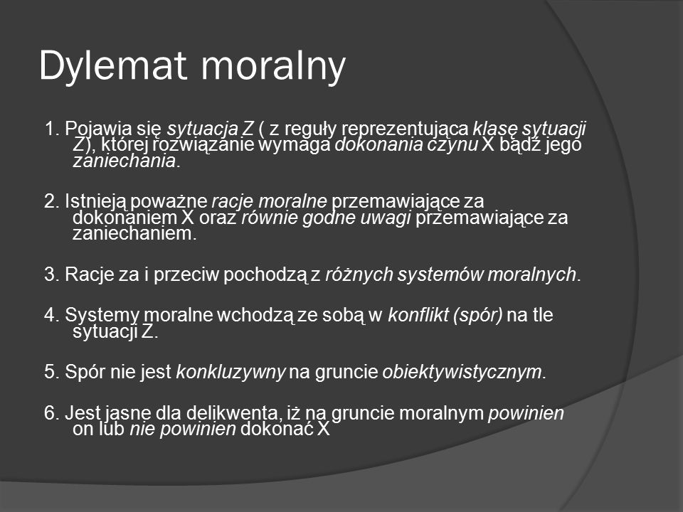 Dylemat moralny
