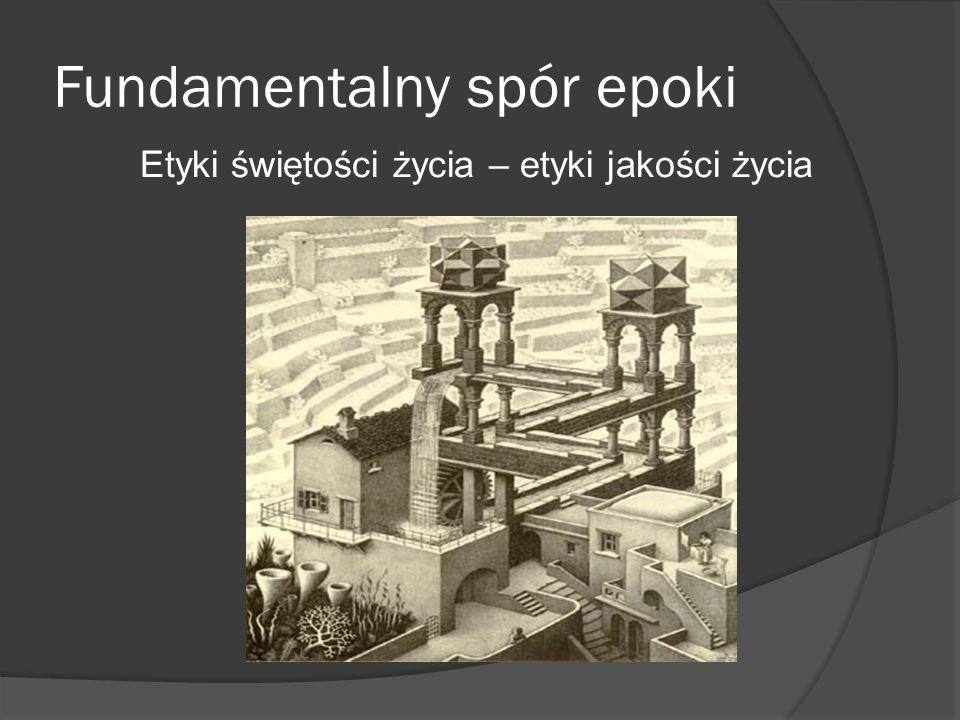Fundamentalny spór epoki