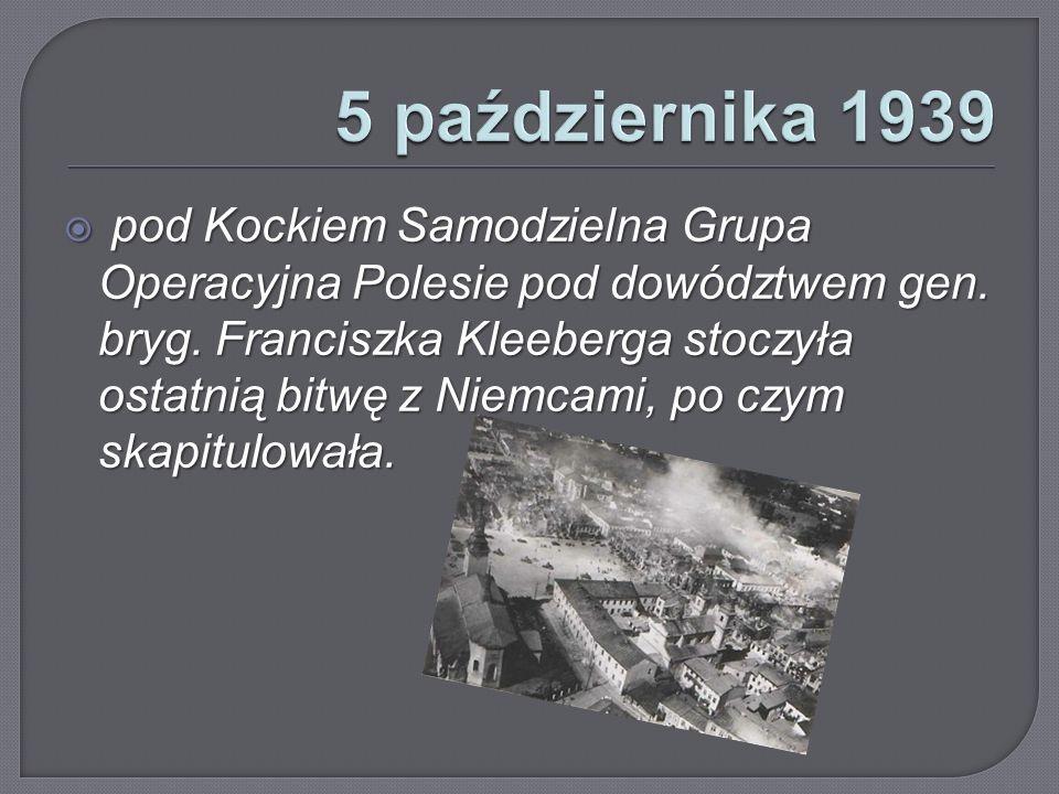 5 października 1939