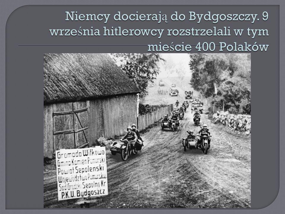 Niemcy docierają do Bydgoszczy