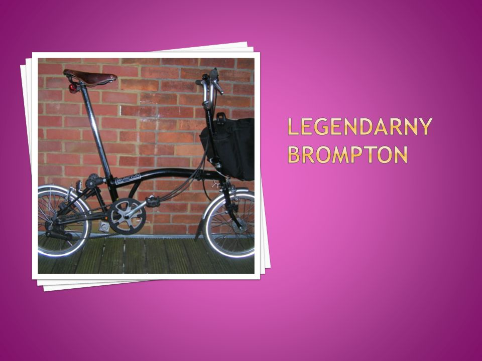 Legendarny Brompton