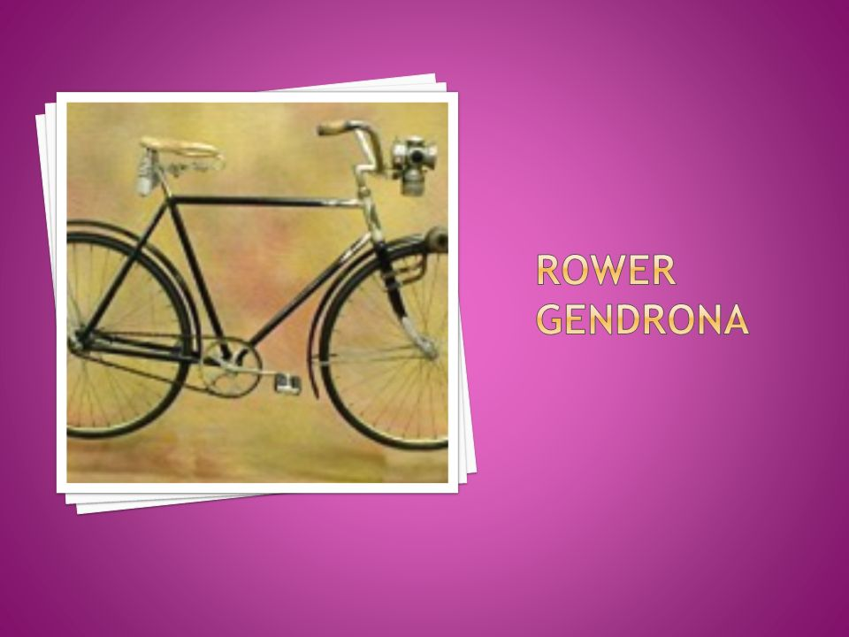 Rower Gendrona