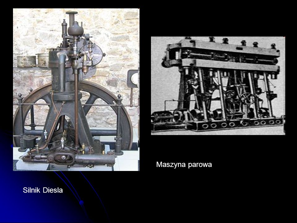 Maszyna parowa Silnik Diesla
