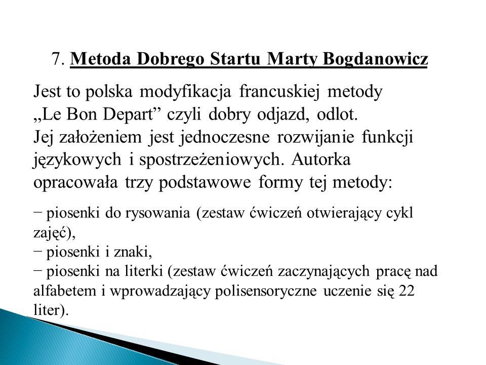 7. Metoda Dobrego Startu Marty Bogdanowicz
