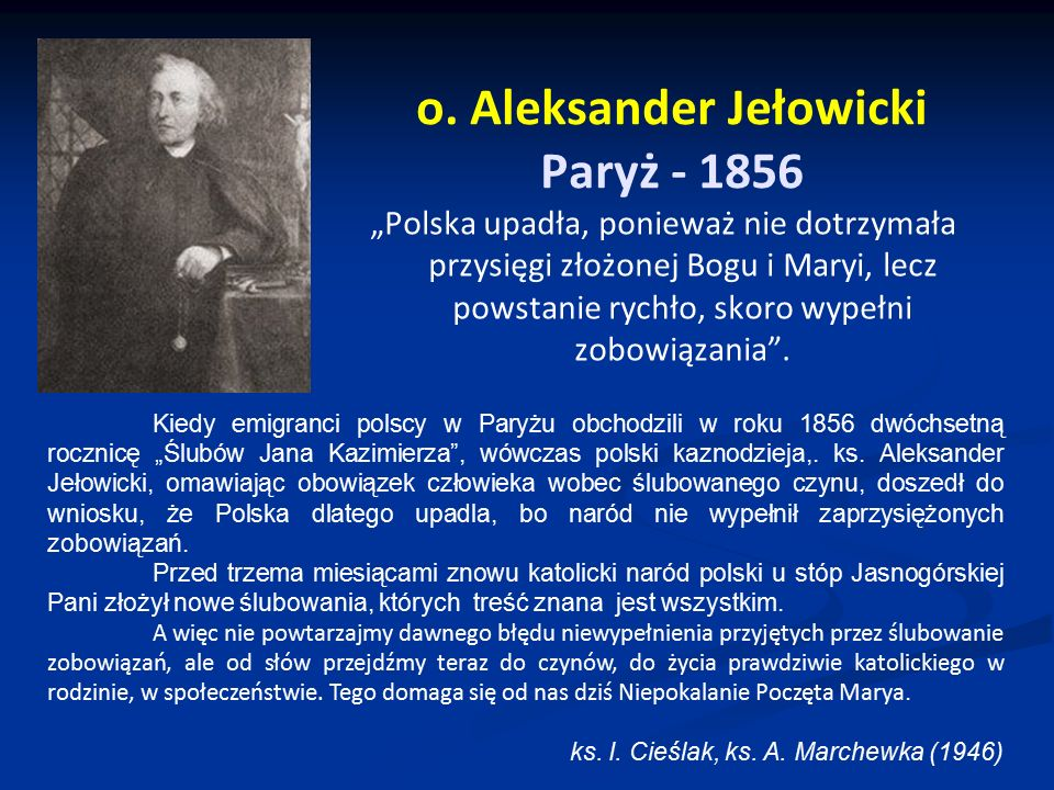 o. Aleksander Jełowicki Paryż - 1856