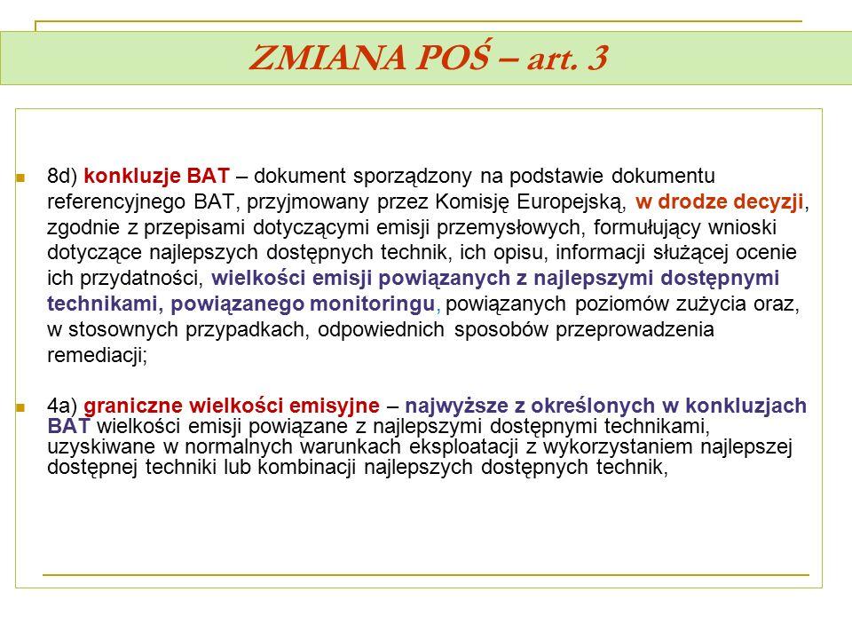 ZMIANA POŚ – art. 3
