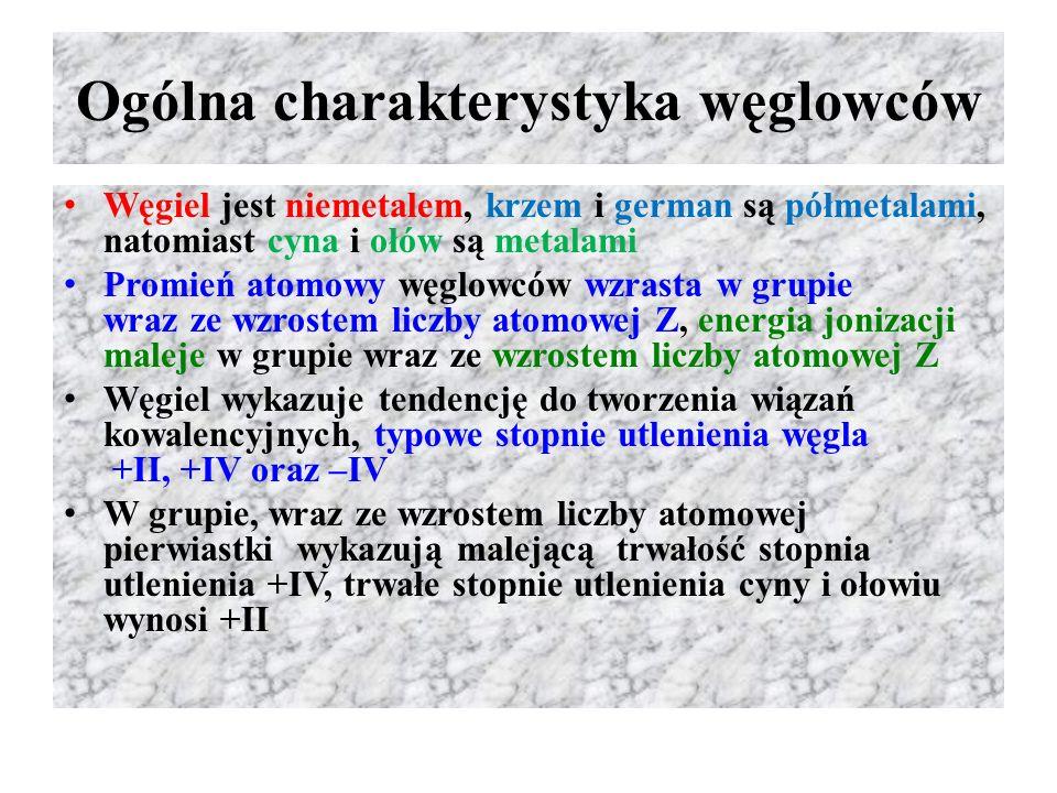 Ogólna charakterystyka węglowców