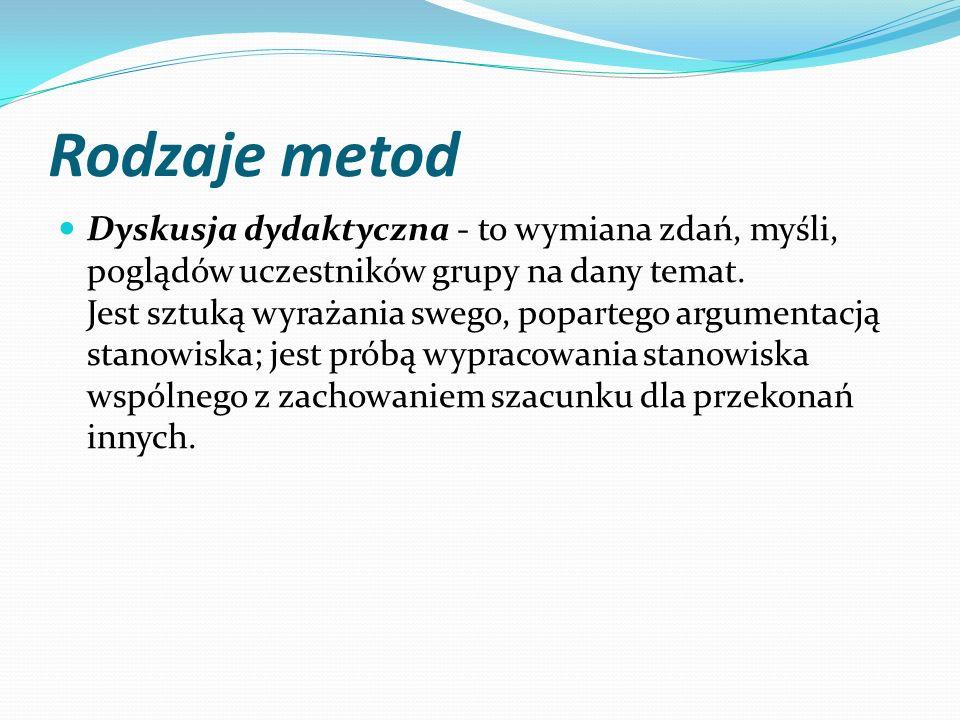 Rodzaje metod