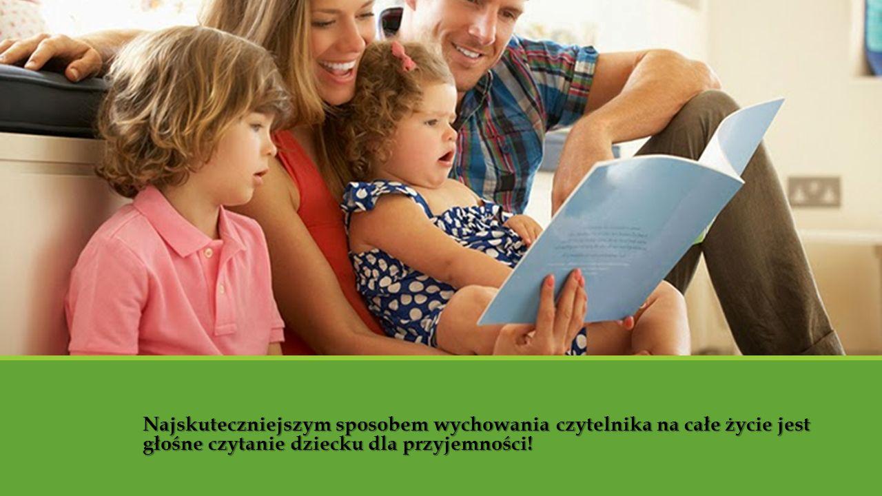 Nawyk czytania i miłość do książek musi powstać w dzieciństwie