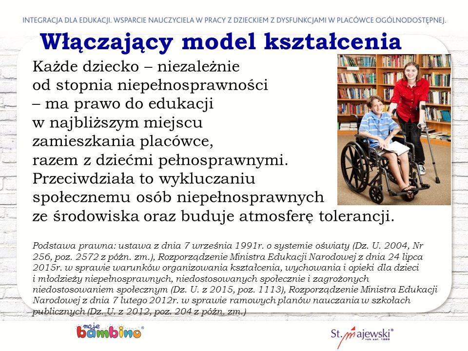 Włączający model kształcenia