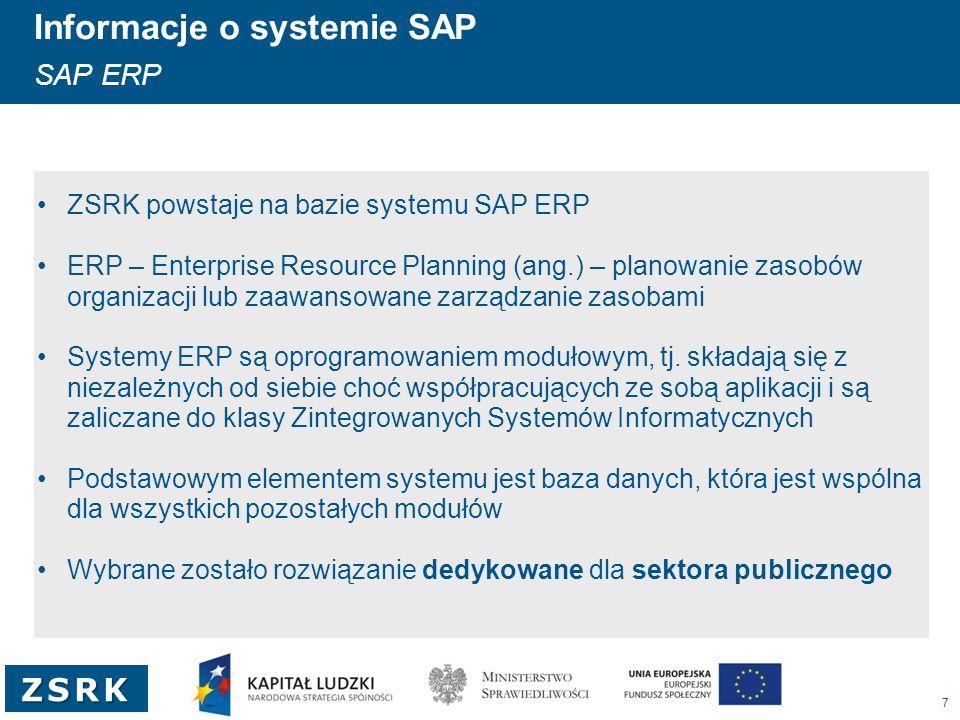 Informacje o systemie SAP Klienci SAP w Polsce