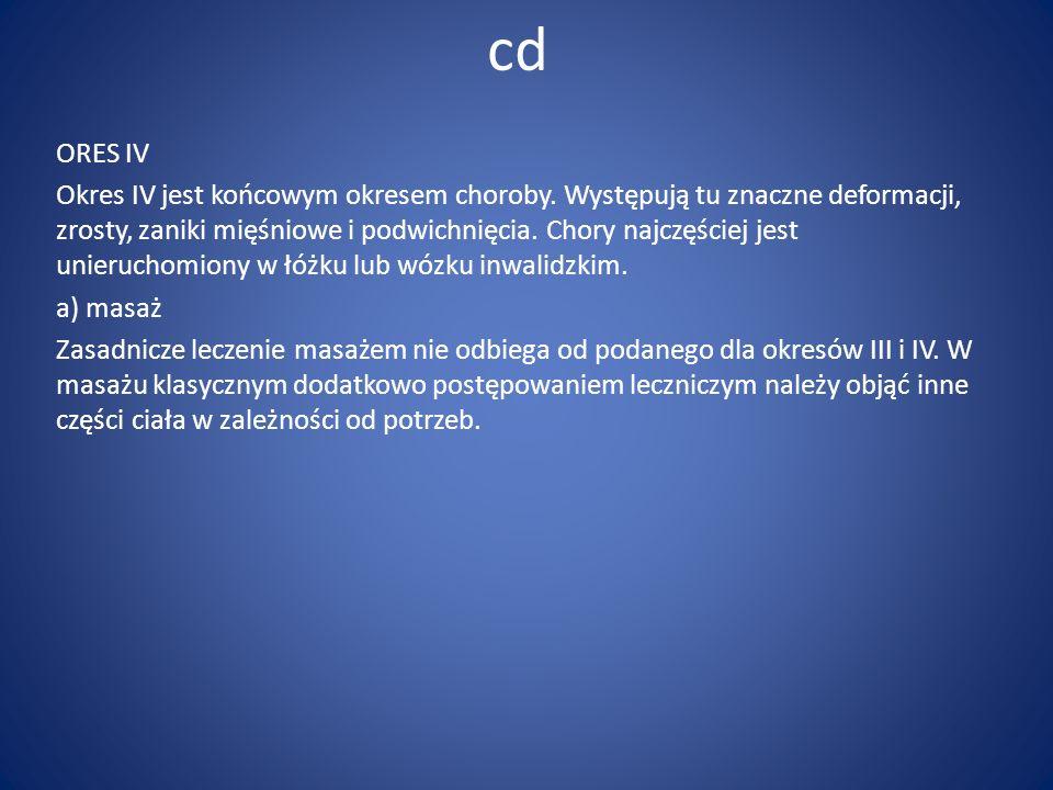 cd ORES IV.