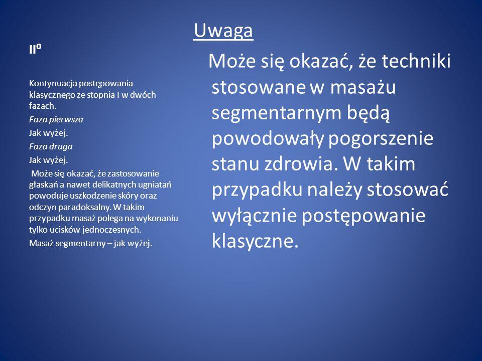 II⁰ Uwaga.