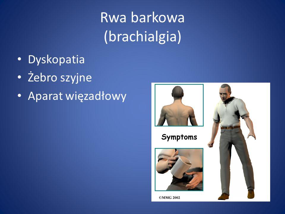 Rwa barkowa (brachialgia)